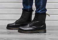Мужские зимние ботинки Dr. Martens Original c 8 парами люверсов без меха