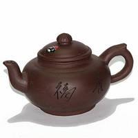 Чайник глиняный «Мудрость», 450 мл.
