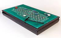 Мини-казино (набор для игры в рулетку и покер) GAME COMPLEX PERFECT