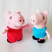 Інтерактивна м'яка іграшка Свинка Пепа 27071 танц.