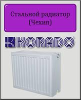 Стальной радиатор KORADO 33 тип 400х2600 (боковое подключение)