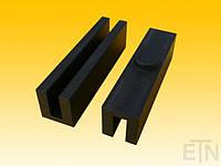 Вкладыш 10 PE, U-образный профиль, направляющая 10 мм, 120 x 28 x 31 мм,   Baas