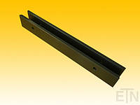 Вкладыш 16 PE, U-образный профиль для направляющих 16 мм, 260 x 36 x 29 мм, запчасти 4-х резьба M8,   Schindler