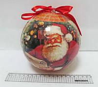 "Новогодний елочный шар ""Санта-Клаус"" 15 см. 10266"