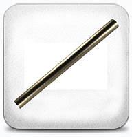 Труба гладкая 19 мм 2,0 м, сатин