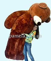 Мишка плюшевый Гигант коричневый  250 см