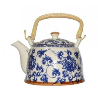 "Чайник ""Голубая хризантема"" с метал. ситом 900 мл"