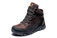 Зимние ботинки мужские Merrell, коричневые, натуральная кожа, р. 40 41 43 45
