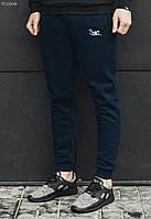 Мужские синие зимние спортивные штаны Staff NAVY fleece VL0008