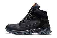 Зимние ботинки мужские Merrell, черные, натуральная кожа, р. 40 41 42 43 45