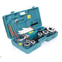 Электрическая резьбонарезная машина BestCraft EC592 + 6 головок, фото 3