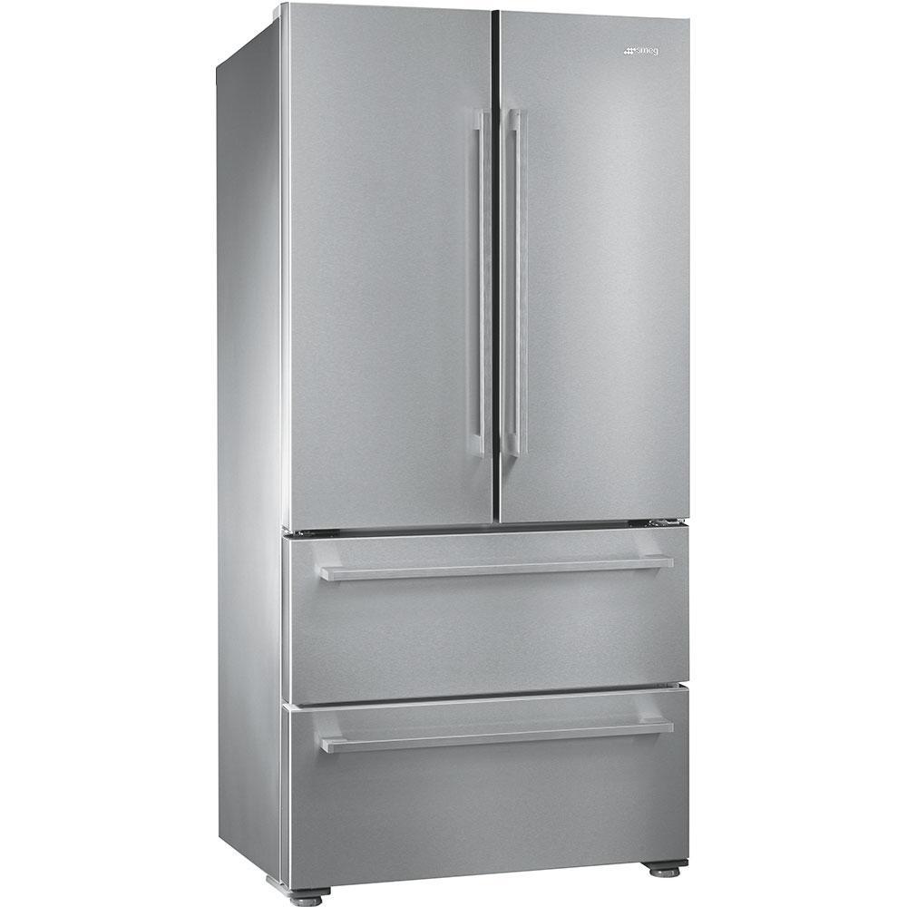 Отдельно стоящий холодильник Smeg FQ55FX1