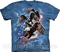 Футболка The Mountain - Patriotic Eagle Collage