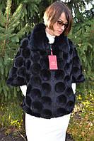 Куртка, кардиган  из вязанной норки