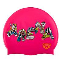 Детская шапочка для плавания Arena Print JR