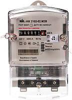 Счетчик электроэнергии однофазный  NiK 220 В 5-60 А электромеханический НІК 2102-02 М2