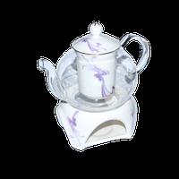 """Чайник стеклянный """"Тень"""" 600 мл"""