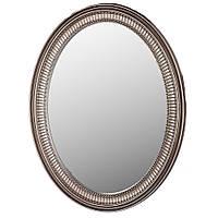 """Настенное зеркало """"Рюш"""",темная патина, 64х84 см."""