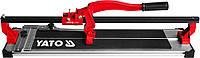 Плиткорез ручной рельсовый 800 мм YATO YT-3708 (ручний плиткоріз рейковий Ято)
