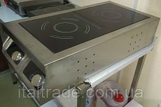 Индукционная плита настольная 2 конфорки по 1,8 кВт