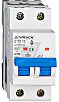 Автоматический выключатель Schrack 2P С 32А (6кА) AM617232--
