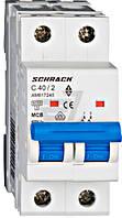 Автоматический выключатель Schrack 2P С 40А (6кА) AM617240--