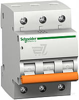 Автоматический выключатель  Schneider Electric ВА63 16/3/С 3Р 16 А 4,5 кА 11223