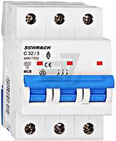 Автоматический выключатель Schrack 3P С 32А (6кА) AM617332--