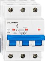 Автоматический выключатель Schrack 3P С 50А (6кА) AM617350--