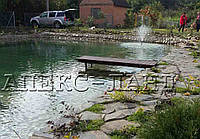 Строительство природного плавательного бассейна - идеального места для отдыха.