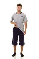 Мужской комплект (футболка + шорты) TM INDENA Арт.48013/XL