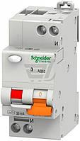 Дифференциальный автомат  Schneider Electric АД 63 25 А 30 мА C 11474
