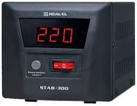 Стабилизатор напряжения  REAL-EL STAB-300 EL122400001