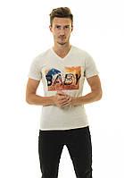Мужская футболка Стрейч ТМ  ARBOKLE Арт.68625