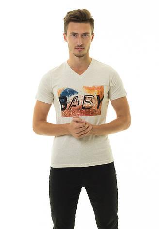 Мужская футболка Стрейч ТМ  ARBOKLE Арт.68625, фото 2