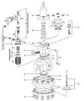 Запасные части для редукционных клапанов с пилотным управлением Ду15 - Ду50 DP27, DP27E, DP27G и DP27Y Spirax