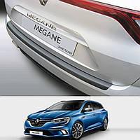 Накладка заднего бампера Renault Megane IV Grand Tourer 2016> ALU