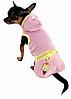 Платье для собаки Мороженое-Розовый-L