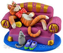 """Статуэтка """"Кот на диване"""""""