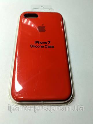 Чехол Silicone Case iPhone 7 КРАСНЫЙ , фото 2