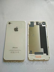 Задняя крышка Back Cover для iPhone 4S БЕЛЫЙ copy AAA