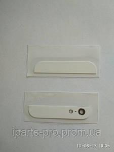 Стекло корпуса для iPhone5 Orig 2Шт комплект БЕЛЫЙ
