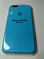 Чехол Silicone Case iPhone 6 плюс/6S плюс ВАСИЛЬКОВЫЙ