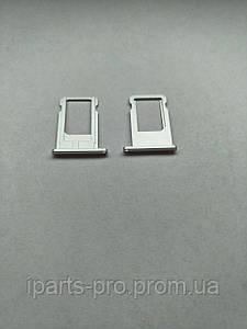Лоток для сим-карты для iPhone 6 СЕРЕБРО