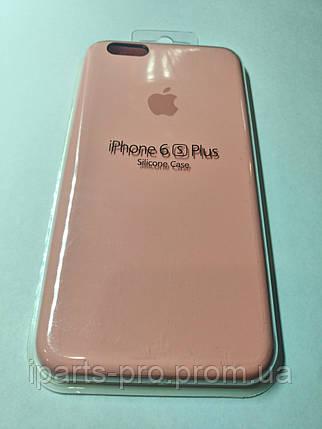 Чехол Silicone Case iPhone 6(5.5)/6S (5.5) СВЕТЛО-РОЗОВЫЙ №6, фото 2
