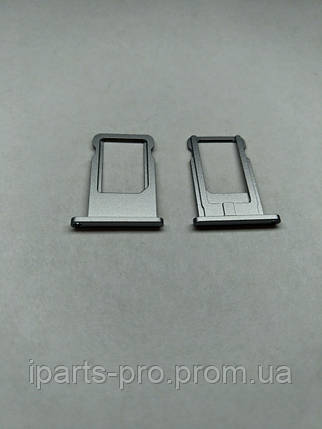 Лоток для сим-карты для iPhone 6 ЧЕРНЫЙ, фото 2