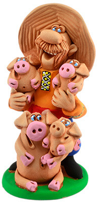 "Статуэтка ""Дорогие мои свиньи"""