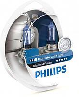 Лампа галогеновая Philips H3 Diamond Vision (12336DVS2)