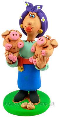"Статуэтка ""Свинки лапочки"""