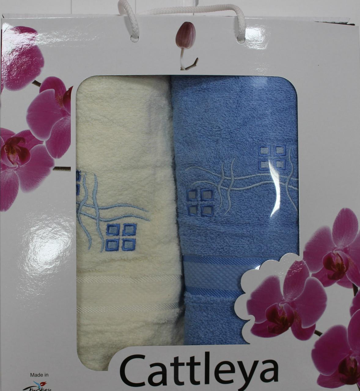 Набор полотенец Cattleya (банное и лицевое)